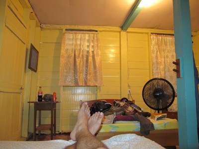 Hostel room in Placencia