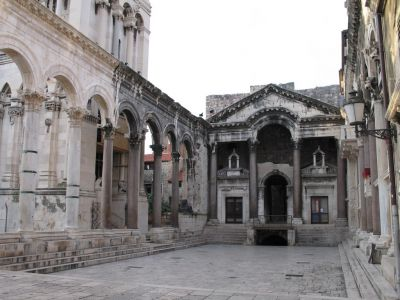 Roman Palace in Split, Croatia