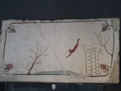 Greek Fresco in Paestum