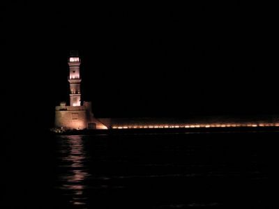 Chania Harbor and Lighthouse