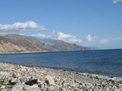 Pebble Beach, Palehora, Crete