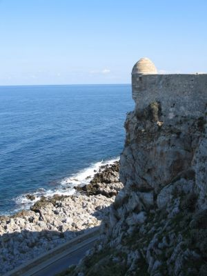 Castle Wall in Crete