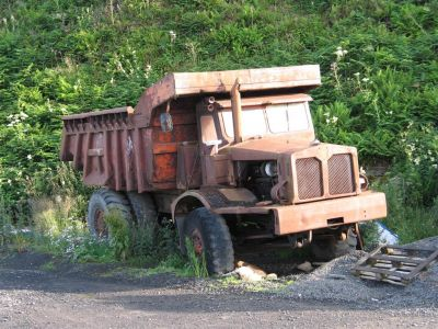Rusted Dumptruck