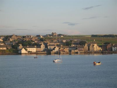 St. Margarets Hope in the Orkney Islands