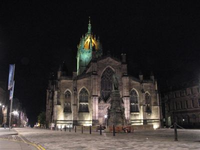 Edinburgh Cathedral at Night